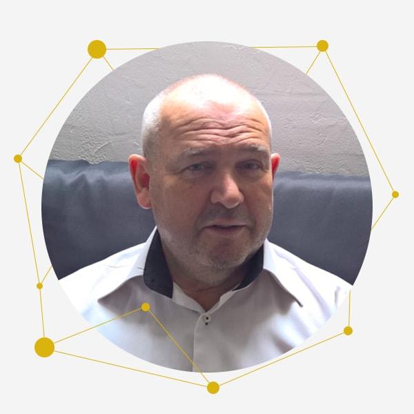 Bruno Dorothé Directeur administratif et financier de l'équipe de Cepheus, spécialiste de l'amélioration du SAV et de la relation client des entreprises de bien d'équipement